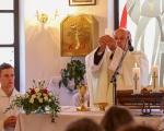 Slavnostní mše svatá v Řetechově (10)