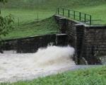 Luhačovicko druhý stupeň povodňové aktivity (8)