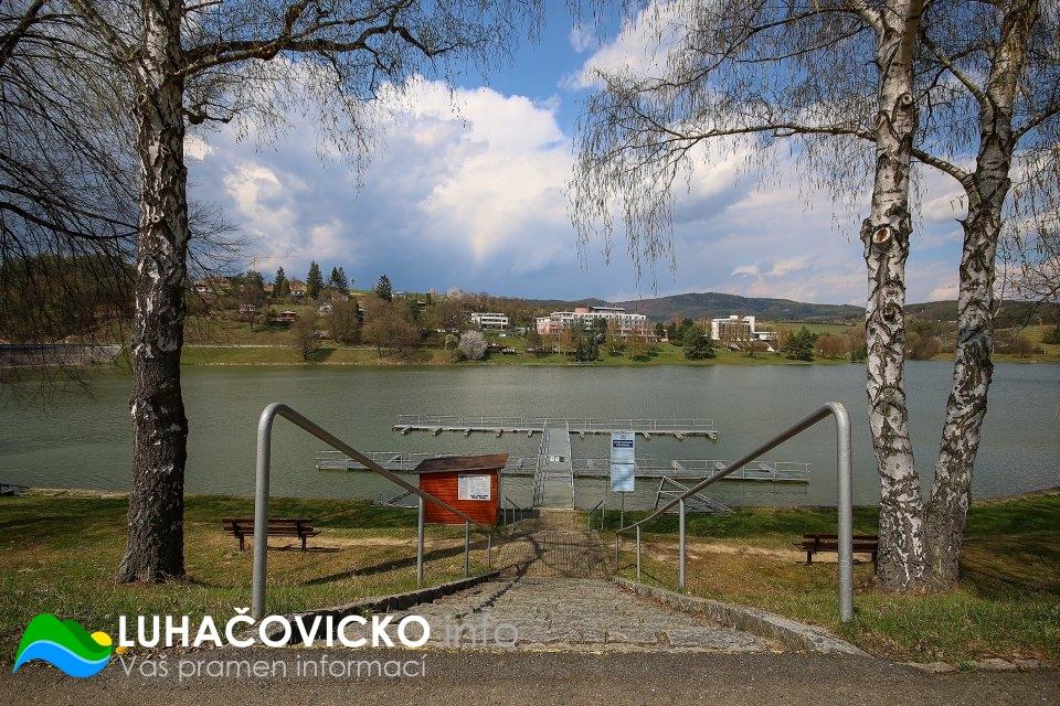 Luhačovická přehrada v dubnu 2020 (10)