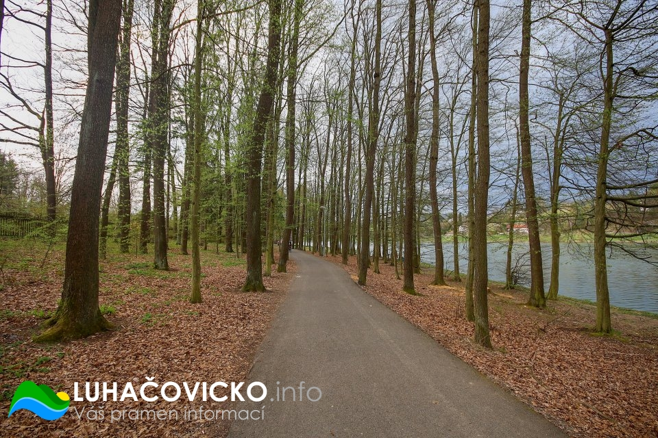 Luhačovická přehrada v dubnu 2020 (12)