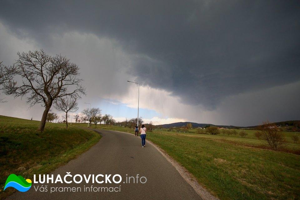 Luhačovická přehrada v dubnu 2020 (16)