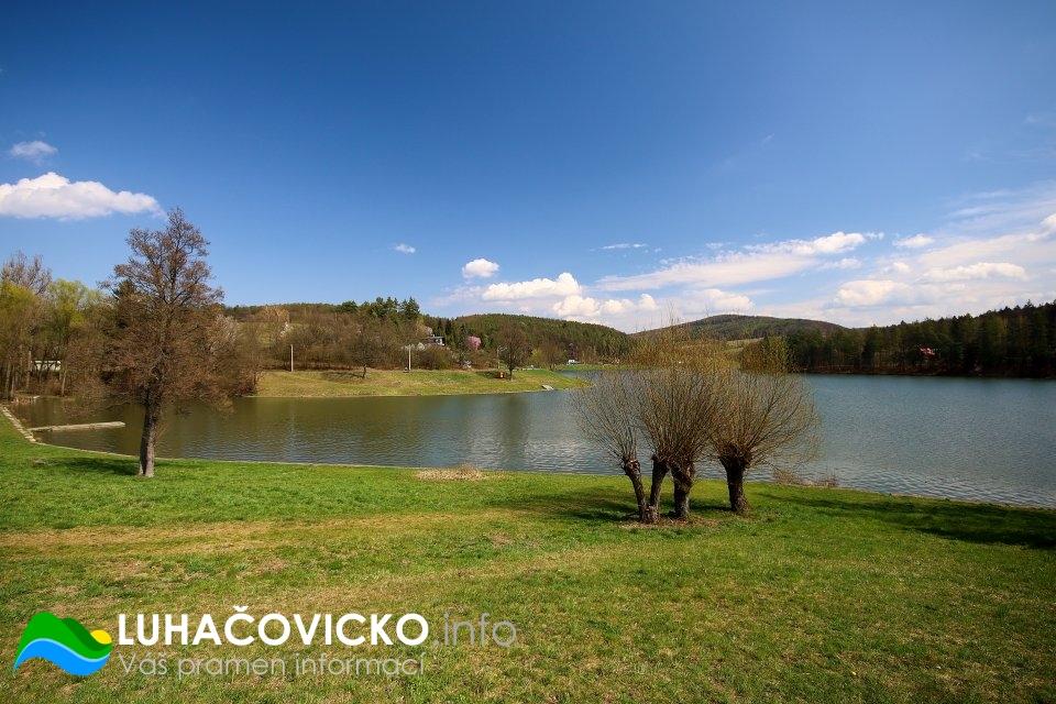 Luhačovická přehrada v dubnu 2020 (4)