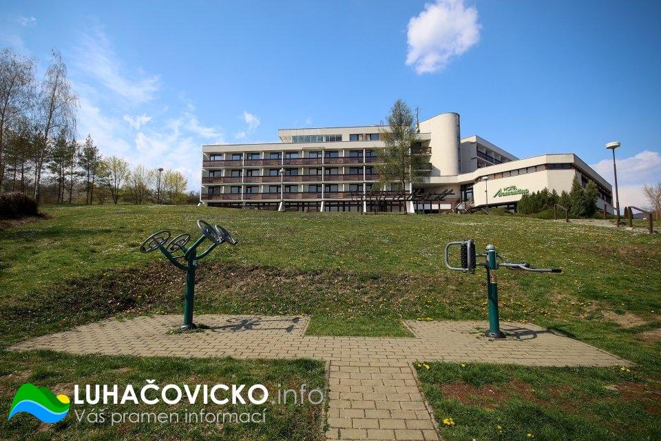 Luhačovická přehrada v dubnu 2020 (5)