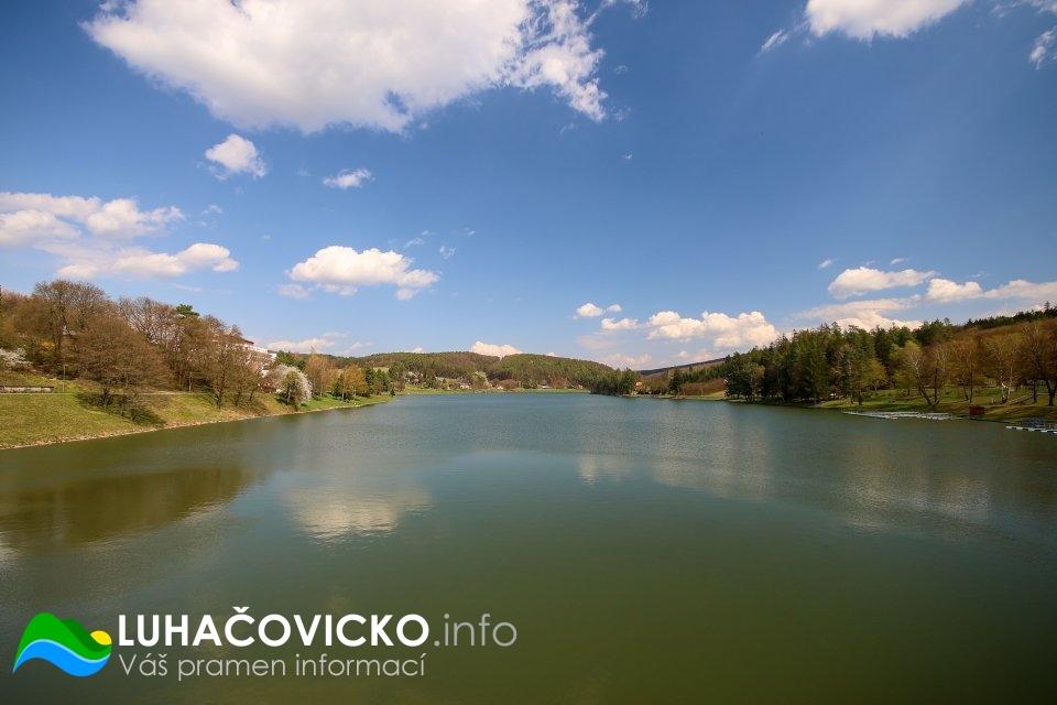 Luhačovická přehrada v dubnu 2020 (7)