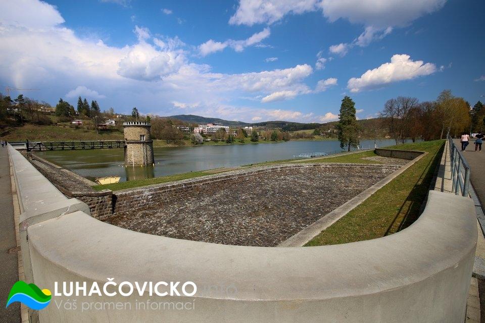 Luhačovická přehrada v dubnu 2020 (9)