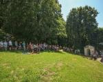 Pěší pouť farnosti na poutní místo Maleniska 2020 (1)
