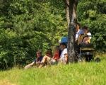 Pěší pouť farnosti na poutní místo Maleniska 2020 (15)