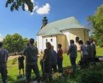 Pěší pouť farnosti na poutní místo Maleniska 2020 (3)