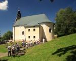 Pěší pouť farnosti na poutní místo Maleniska 2020 (4)