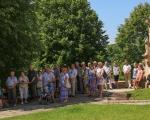 Pěší pouť farnosti na poutní místo Maleniska 2020 (6)