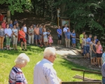 Pěší pouť farnosti na poutní místo Maleniska 2020 (7)
