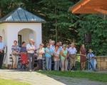 Pěší pouť farnosti na poutní místo Maleniska 2020 (8)