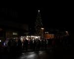 Rozsvícení vánočního stromu v Pozlovicích 2019 (1)
