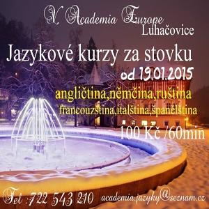 Jazyková škola Luhačovice banner