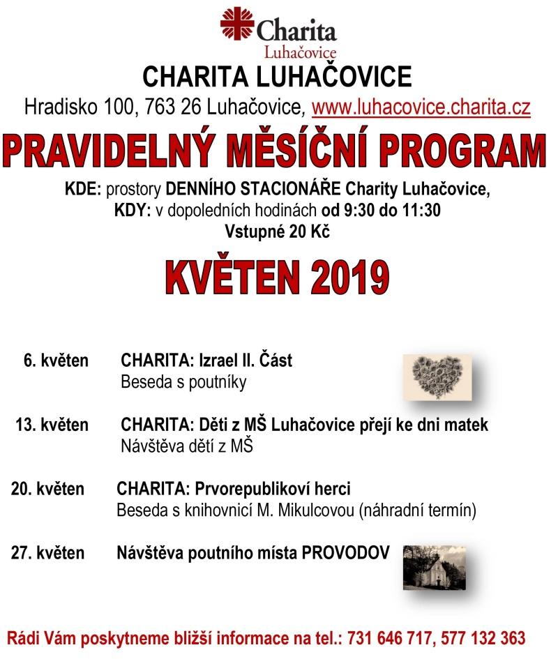 program KVĚTEN 2019