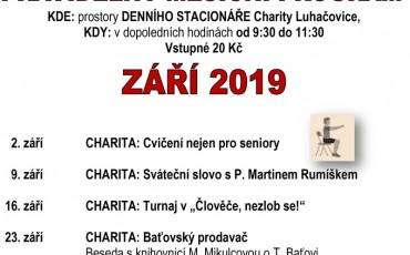 program ZÁŘÍ  2019