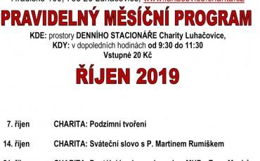 program ŘÍJEN  2019