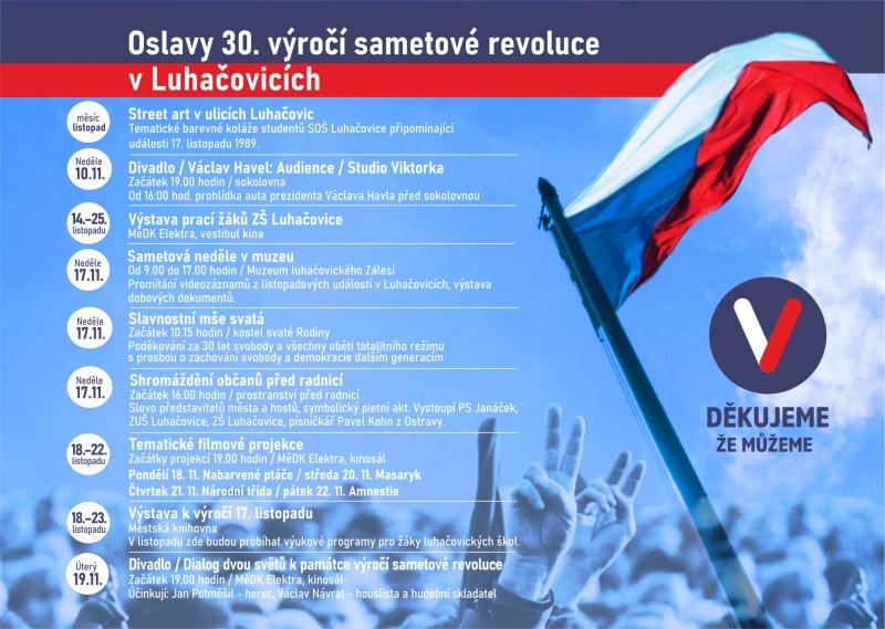 30 vyroci sametove revoluce