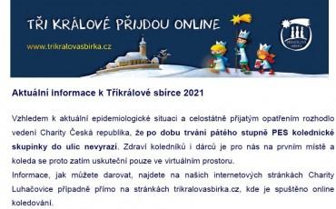 Koleda bude online 2021