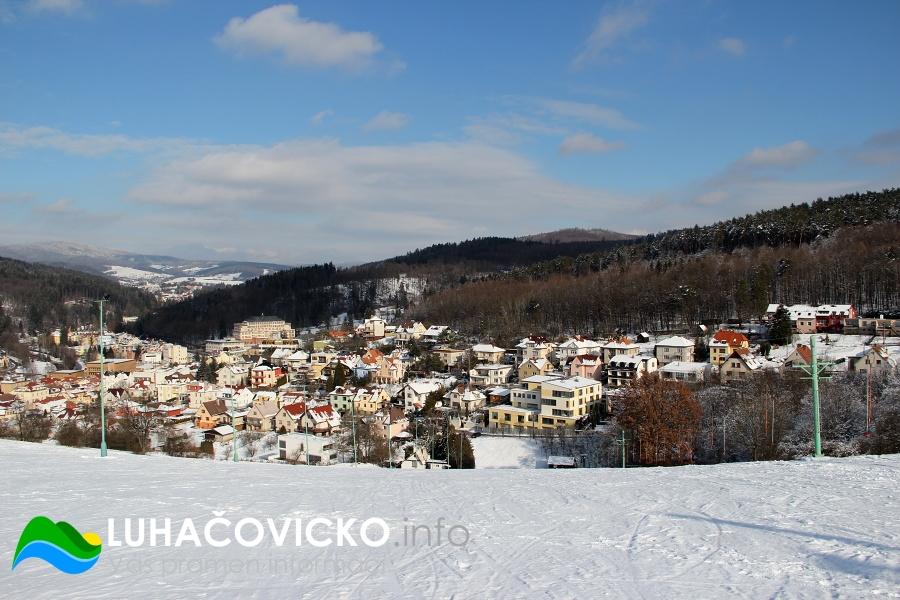 Luhačovice-zima